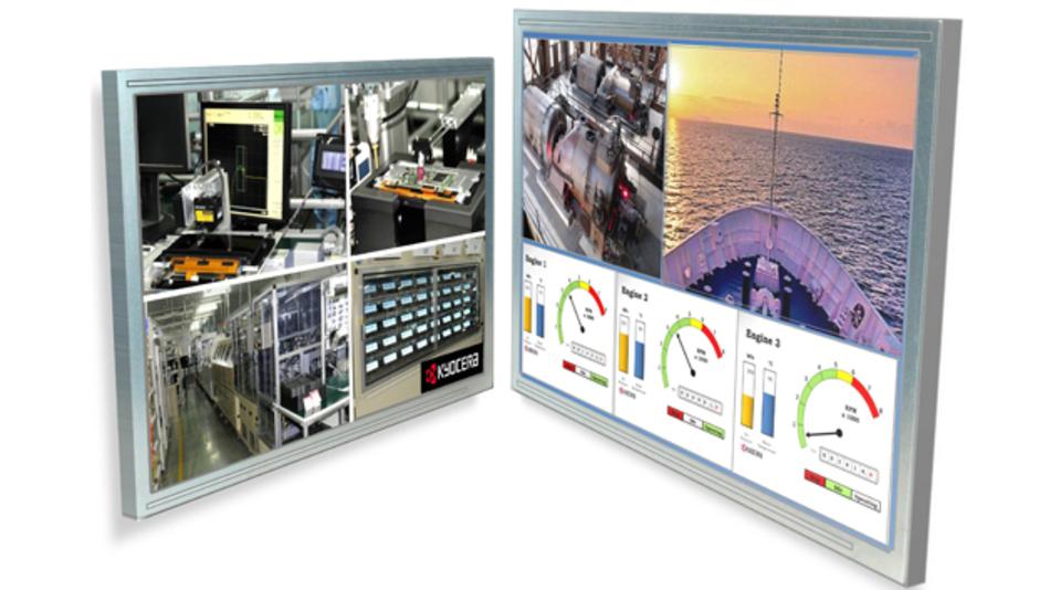 """Zwei neue XGA LCD-Modelle von Kyocera mit 10,4"""" und 12,1"""" Diagonale."""