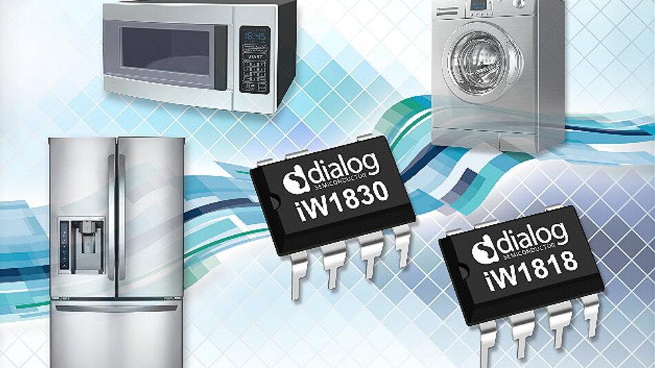 Dialog Semiconductor tritt mit erweitertem Angebot an Leistungswandlern in den Markt für Weiße Ware ein.