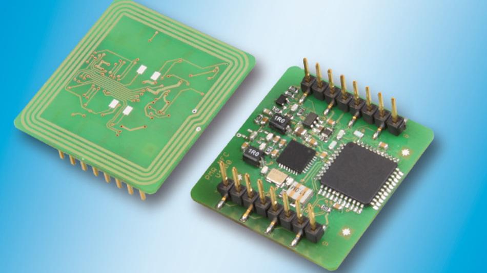 Der NFC-Leser TWN4 MIFARE NFC von Elatec llässt sich dank seiner Mini-Bauweise mit integrierten Antennen leicht in Displays, Maschinen und mobilen Handgeräten integrieren.