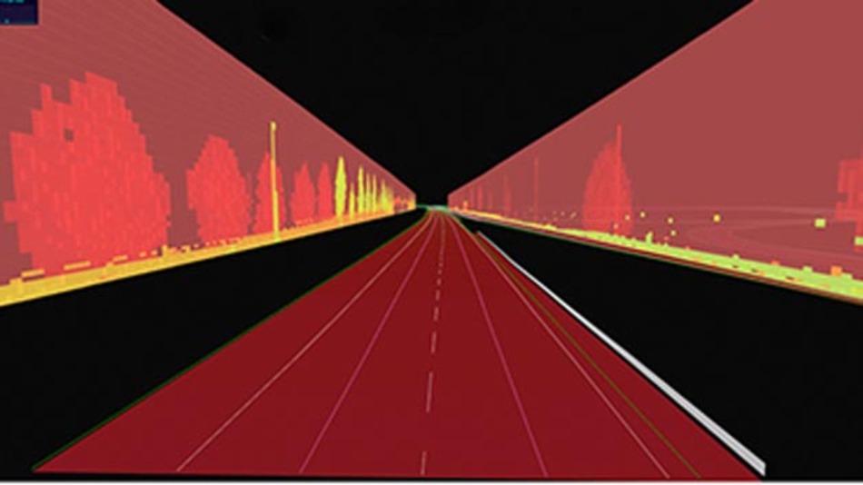 Spurführung à la TomTom: OEMs können bald automatisiertes Fahren mit entsprechendem Kartenmaterial testen.