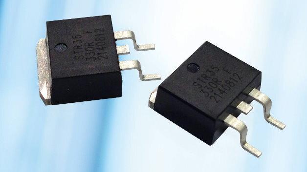 Die Leistungswiderstände der Serie »STR35« gibt es in den Nennwerten von 0,5 Ω bis 100 kΩ.