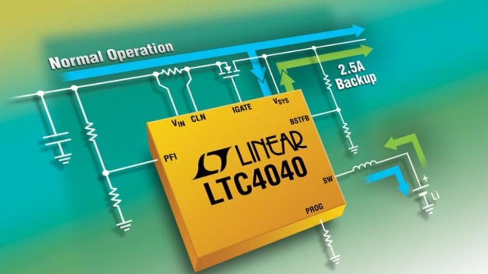 das IC LTC4040 aus dem Hause Linear Technology