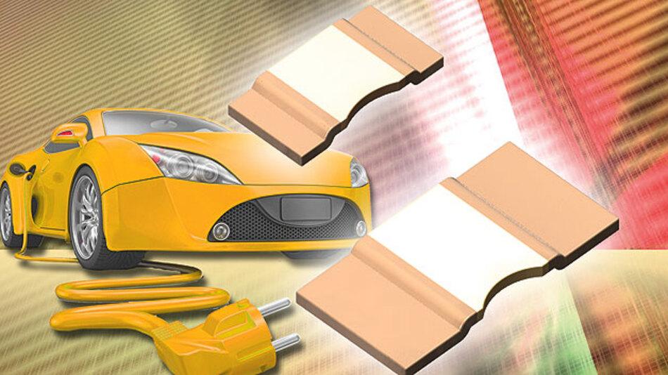 Widerstände in automobilen Applikationen existieren in vielfältigen Modellen, Formen und Baugrößen.