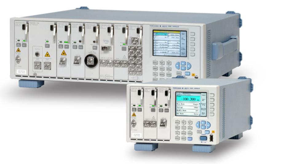 Die AQ2200 Serie von Yokogawa ist eine modulare Test-Plattform für die Entwicklung und Herstellung von optischen Komponenten und Netzwerk-Systemen.
