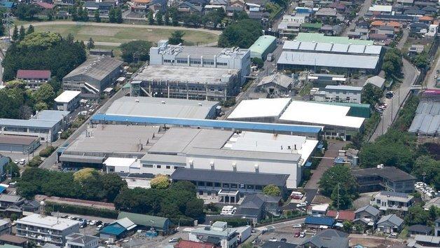 Der Kokusan-Denki-Standort in Numazu, Japan.