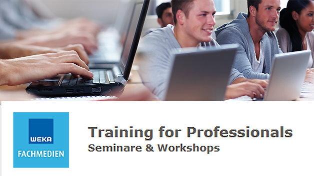 Das Intensivseminar »Internet der Dinge (IoT)« findet in der Veranstaltungsreihe »Training for Professionals« der WEKA FACHMEDIEN vom 24. bis 25. Juni in Haar bei München statt.