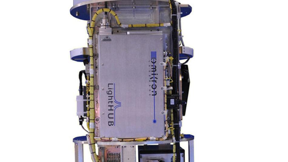In der Forschungsrakete TEXUS/VSB-30, die am 27. April in Schweden gestartet wurde, fungierte eine Modell aus Omicrons LightHUB-Serie als Laserlichtquelle für Betrachtung von Humanzellen in Schwerelosigkeit.