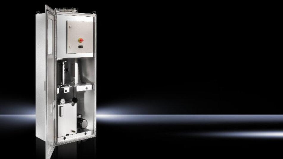 Mit dem Rittal TopTherm Konfigurator können Konstrukteure und technische Einkäufer im Maschinenbau Maschinen- und Prozesskühlungen auslegen.