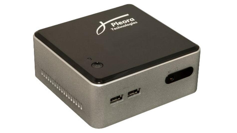 Das »Transcoder Gateway« von Pleora überträgt Bilddaten von bis zu vier GigE-Vision- oder USB3-Vision-Kameras an jedes Endgerät.