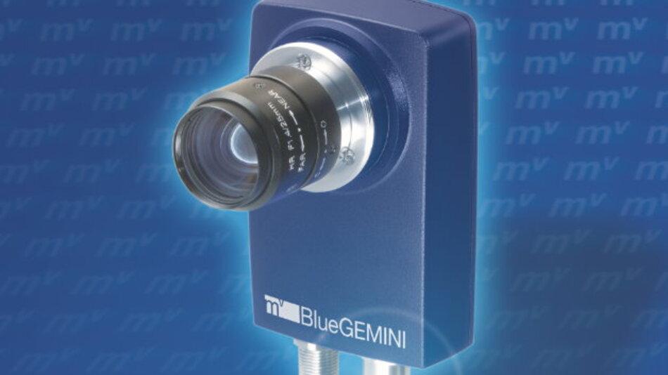 Die Smart Camera »mvBlueGEMINI« von Matrix Vision lässt sich auch mit geringen Bildverarbeitungskenntnissen konfigurieren.