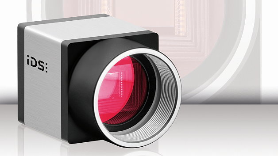 Eine USB-3.0-Kamera von IDS mit dem CMOS-Bildsensor IMX174 von Sony