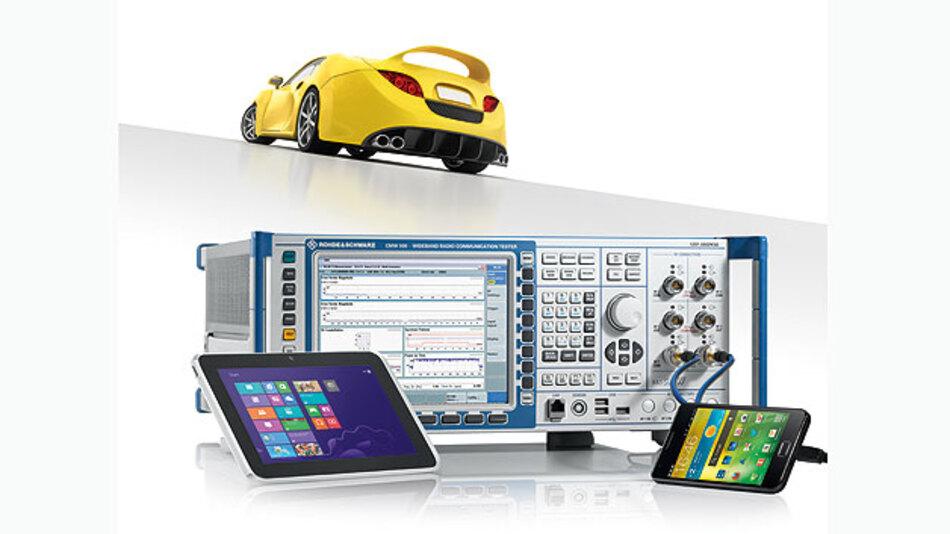 Nahe beieinander liegende Funksysteme erhöhen die gegenseitige Störung im Infotainment-System.
