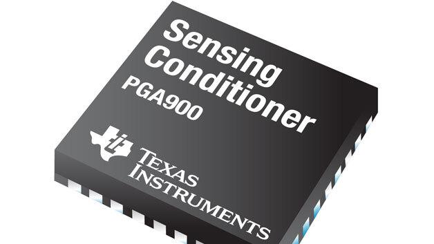 Der Messwandler PGA900 von Texas Instruments verfügt laut Hersteller über die höchste Auflösung der aktuell verfügbaren Wandler.