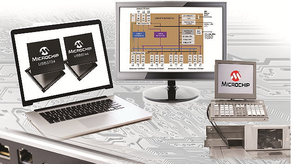 Smart-Hub-Familie für USB 3.0 von Microchip