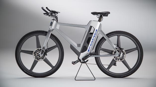 Elektro-Konzeptfahrrad Mo-De:Flex von Ford