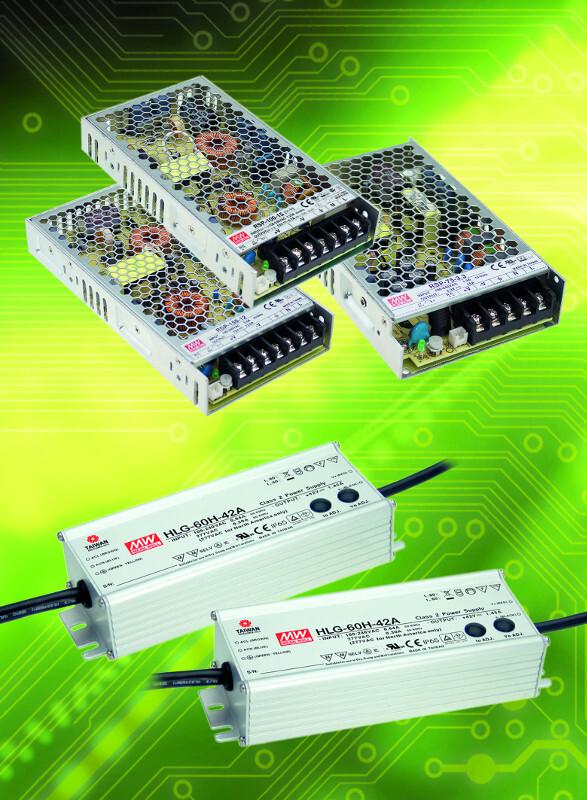 Schaltnetzteile der Mean-Well-Familie RSP 75-150 W, zertifiziert nach EN 61558