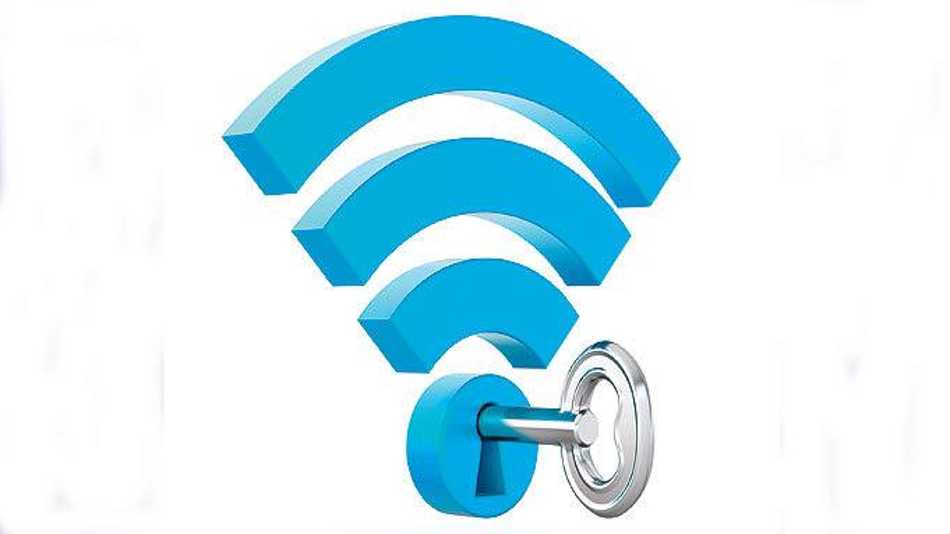 Keine Sicherheit n der WLAN-Technik, da alle Geräte einen Schlüsselcode haben.