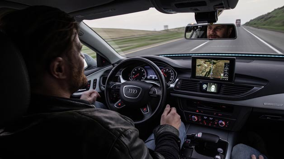 Autonom unterwegs, beispielsweise im Audi A7 piloted driving concept.