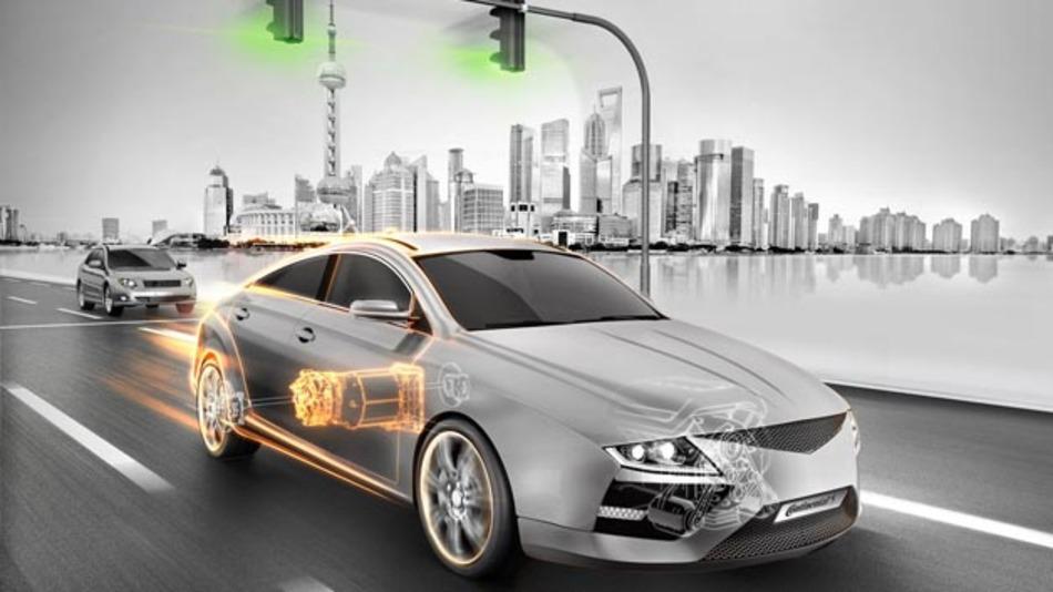 Den neuen Elektromotor für den chinesischen Markt stellt Continental auf der diesjährigen IAA vor.