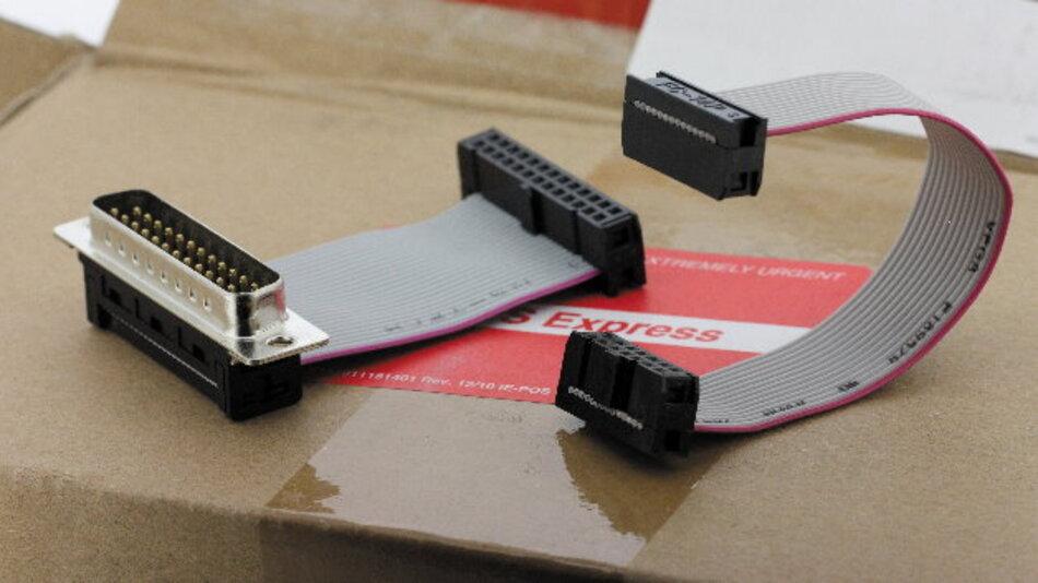 Bei diesem Schnellservice lässt sich ein recht breites Spektrum an IDC-Verbindern in den Rastermaßen 2,0 mm und 2,54 mm konfektionieren
