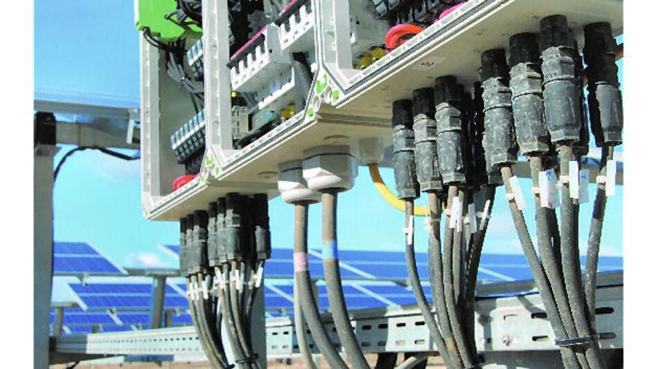 Beispiel für einen Generatoranschlusskasten (GAK)