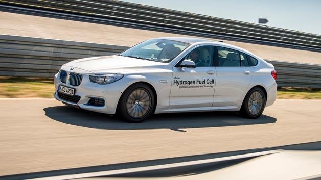 5er Gran Turismo mit Brennstoffzelle