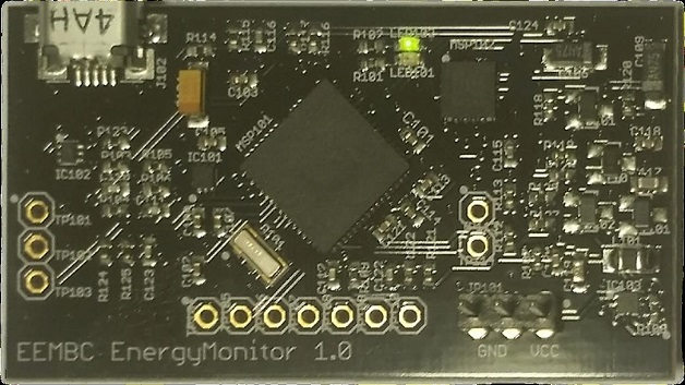 Die Messhardware EEMBC EnergyMonitor 1.0.