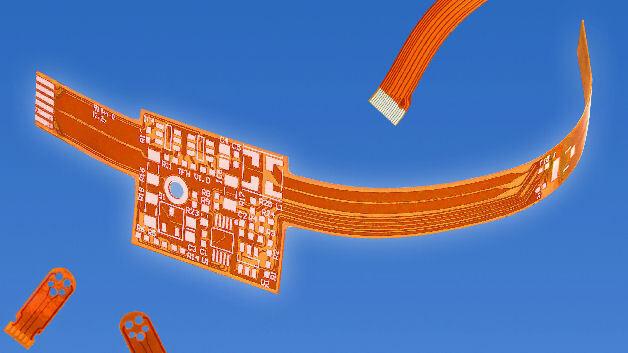 Fertigung flexibler Leiterplatten