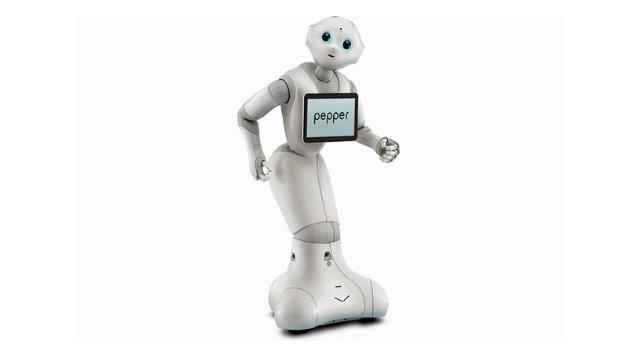 :»Gestatten, mein Name ist Pepper«. Pepper, der empathische Roboter, wurde vom französischen Unternehmen Aldebaran Robotics entwickelt und wird ab sofort offiziell in Japan verkauft.