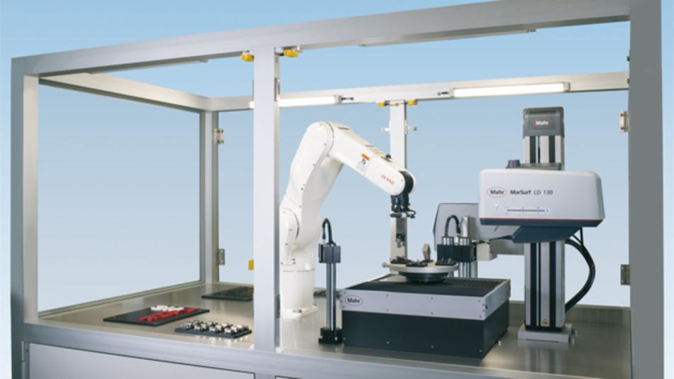 Roboterhandling: Konturenmessung mit MarSurf CNC modular.