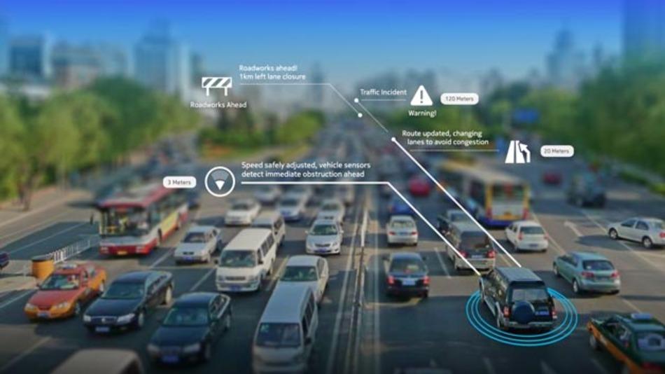 Fahrzeuge, die sich gegenseitig vor Gefahren warnen? Im Projekt Coop wird genau das getestet.