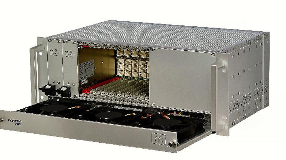 Schroff CompactPCI-Serial-System gemäß Spezifikation CPCI-S.0 Rev. 2.0