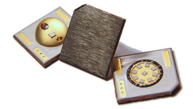 Mit »Black X« als Dielektrikum haben LED-Packages einen thermischen Widerstand von 0,2 K/W bis 0,5 K/W.