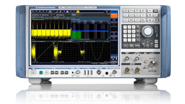 Der R&S FSW85 deckt den Frequenzbereich von 2 Hz bis 85 GHz in einem Sweep ab.