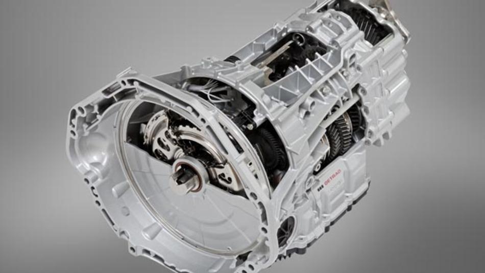 M Doppelkupplungsgetriebe mit Drivelogic von Getrag im BMW M5