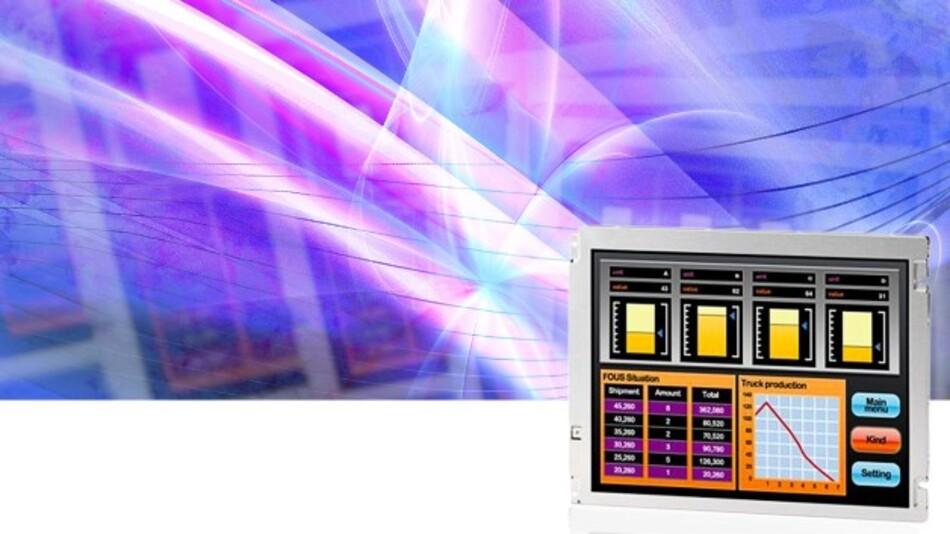 Eine Lebensdauer von 100.000 h des Backlights entsprechend einem Dauerbetrieb von 11 Jahren garantiert NLT bei seinen TFT-Displays mit 8,4- und 10,4-Zoll-Diagonale.