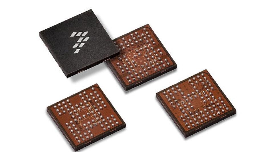 Der Radar-Chipsatz von Freescale umfasst die MR2001- und MPC577xK-Komponenten.