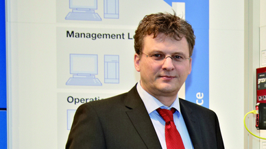 Stefan Hoppe, Vicepresident der OPC Foundation