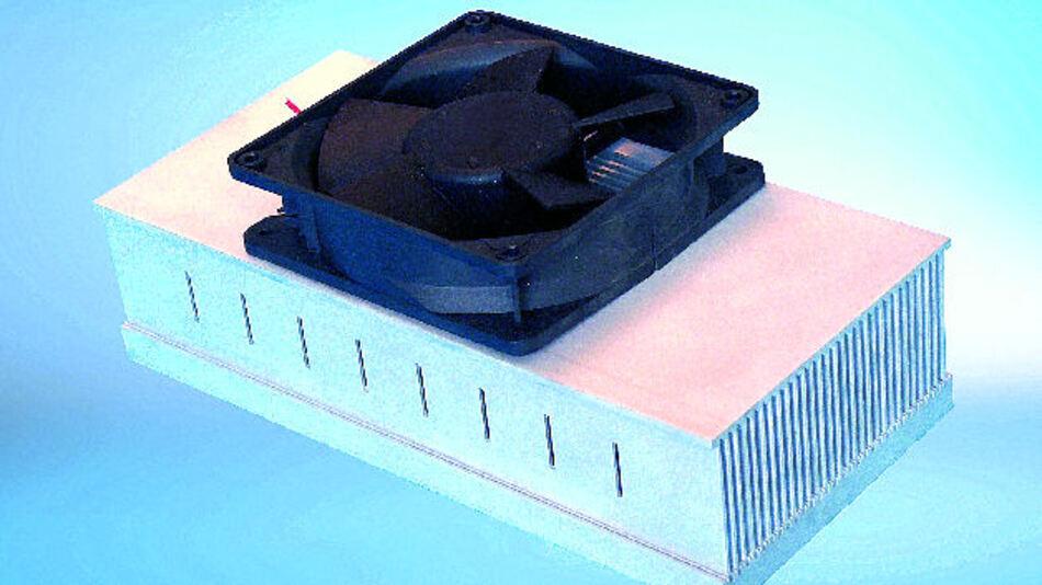 Beispiel für einen Hochleistungskühlkörper aus dem Hause CTX Thermal Solutions