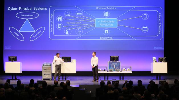 Letztes Jahr präsentierten Rahman Jamal und Daniel Riedelbauch die Keynote des Kongresses VIP.