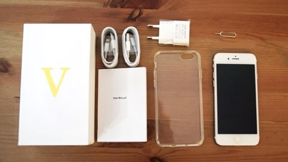 Das V-Phone ist eine hervorragende Kopie des iPhone 6 und schon länger online für etwa 185,00 Euro bestellbar.