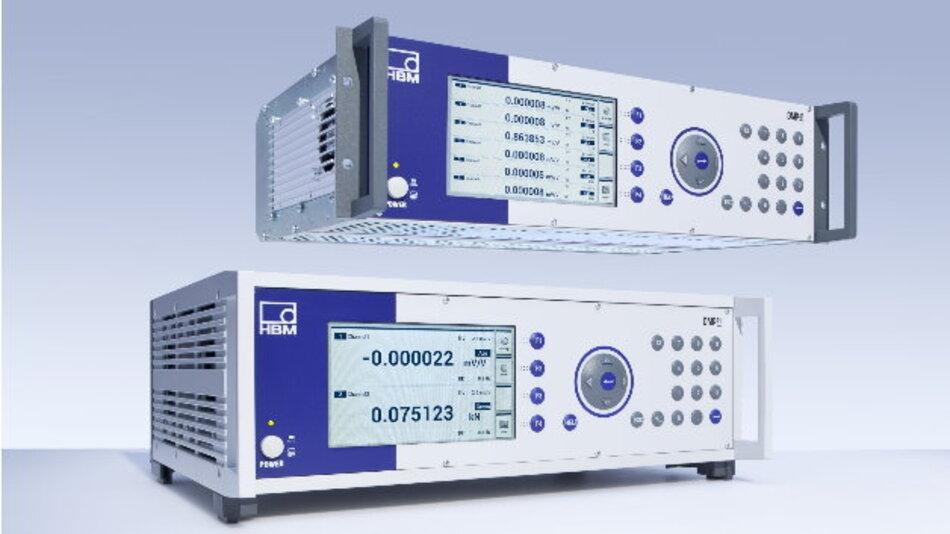 Ausgelegt für den Einbau in Schaltschränke: Die neuen Modelle 1-DMP41-E2 und 1-DMP41-E6 des Präzisionsmessverstärkers DMP41