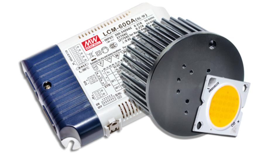 LED, Power und Kühlung beinhaltet das Schukat-Lighting-Programm »All in one«