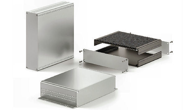 Aluminiumkleingehäuse