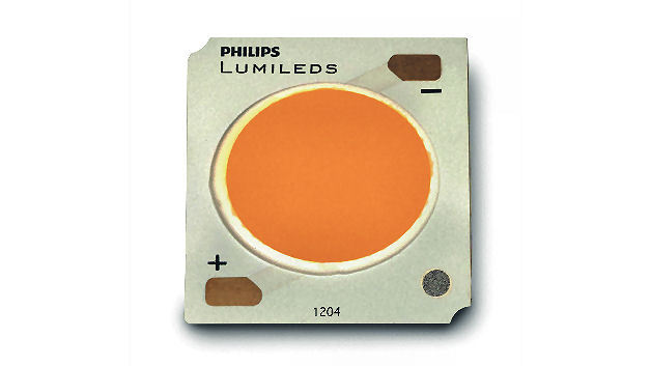 Luxeon-CoB-LED aus der 1204-Serie der Firma Philips Lumileds