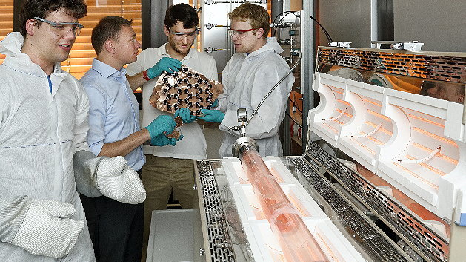 Die Herstellung von hochwertigem synthetischen Graphen  für industrielle Anwendungen rückt in greifbare Nähe.