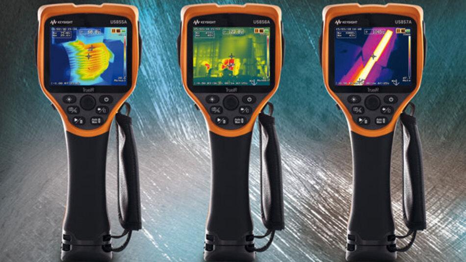 Mit neuen zwei Modellen wird der Temperaturmessbereich der U5850-Serie auf 1200 °C erweitert.