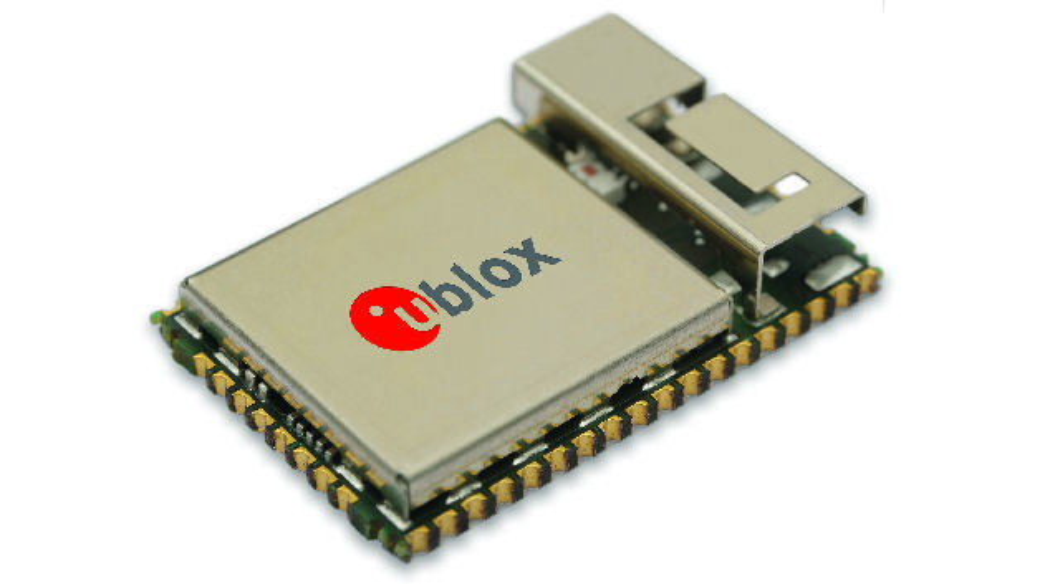 Bild 2. Das Multiradio-Modul ODIN-W2 von u-blox kombiniert Dual-mode Bluetooth und Dual-band Wi-Fi.