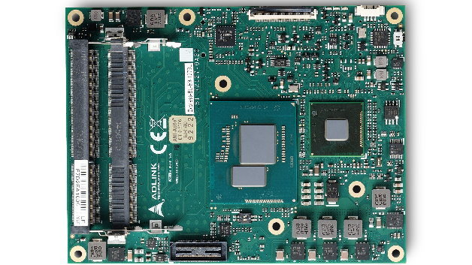Das COM-Express-Typ-6-Modul »Express-BL« von Adlink nutzt Intels Xeon-E3-1200-Prozessor.