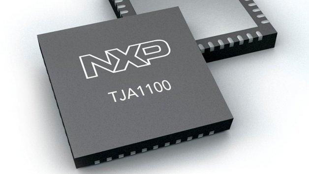 Der Transceivers TJA1100 unterstützt Low-Power-Modes zur Reduzierung des Energieverbrauchs.